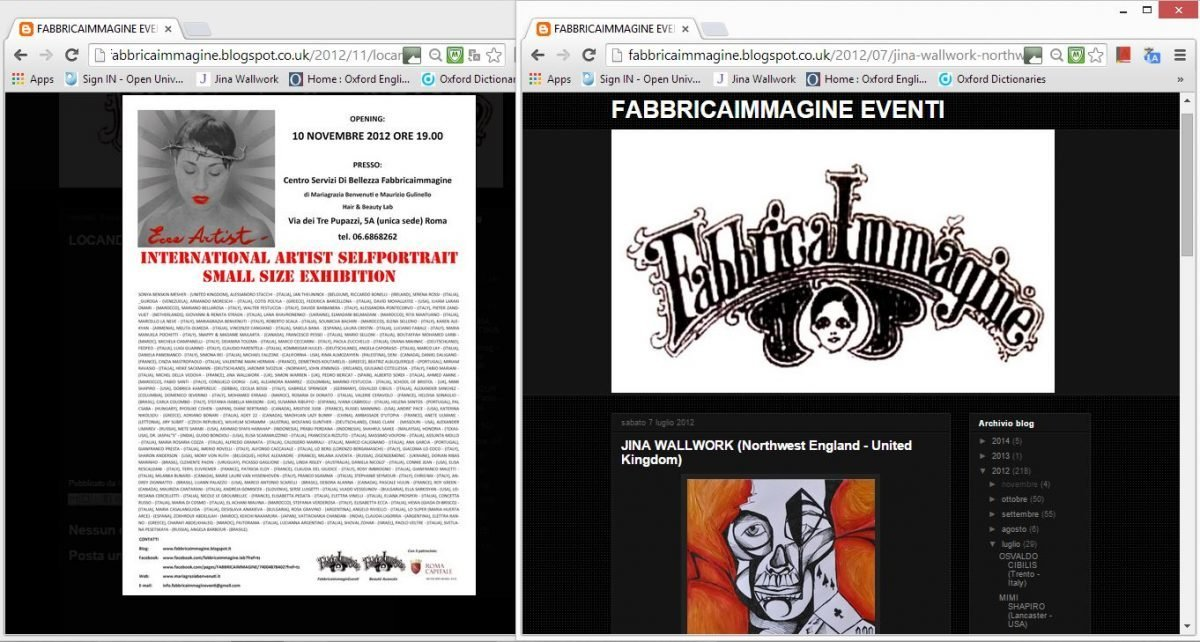 web clippings fabbricaimmagine