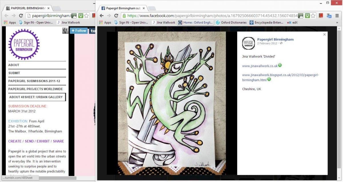 web clippings Papergirl Birmingham