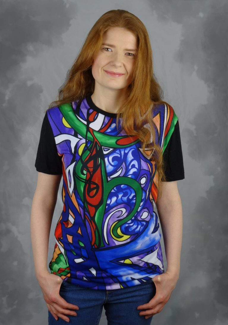 Abstract Funk T-Shirt