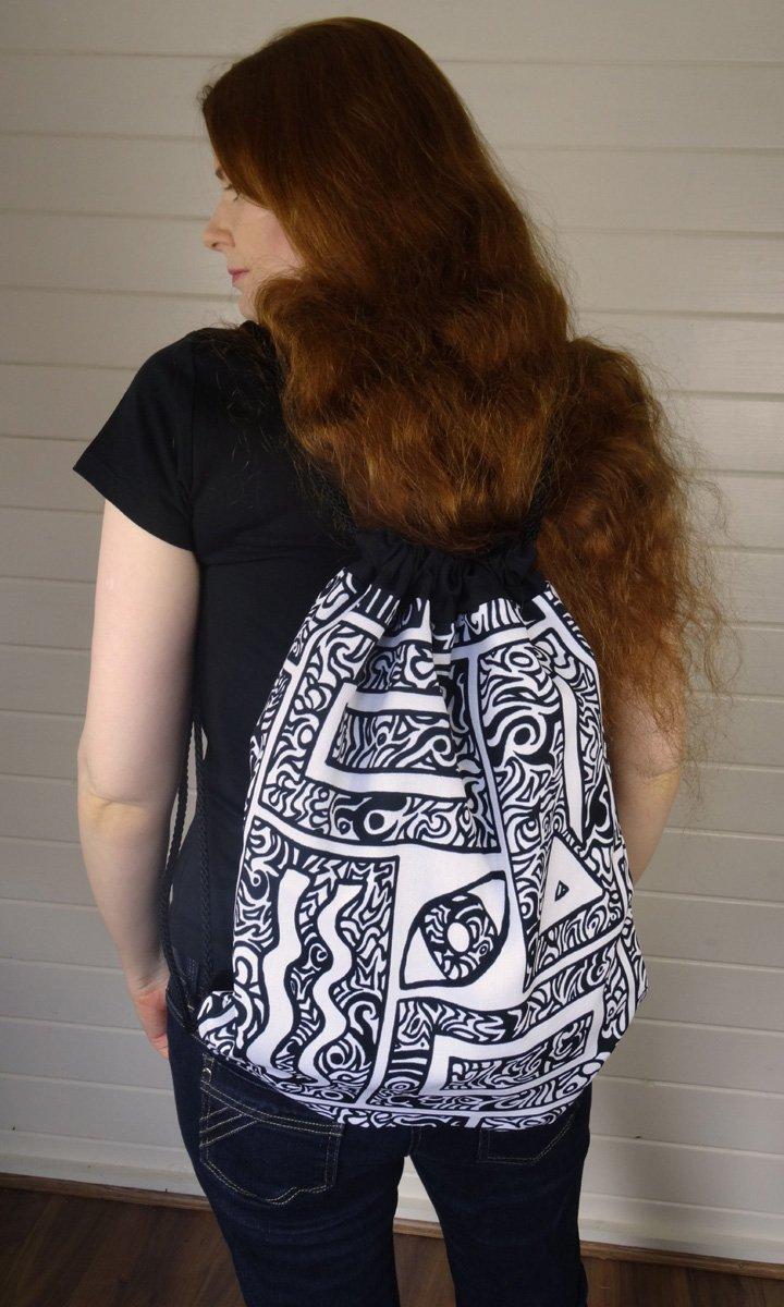 Eye, Square, Triangle Bag