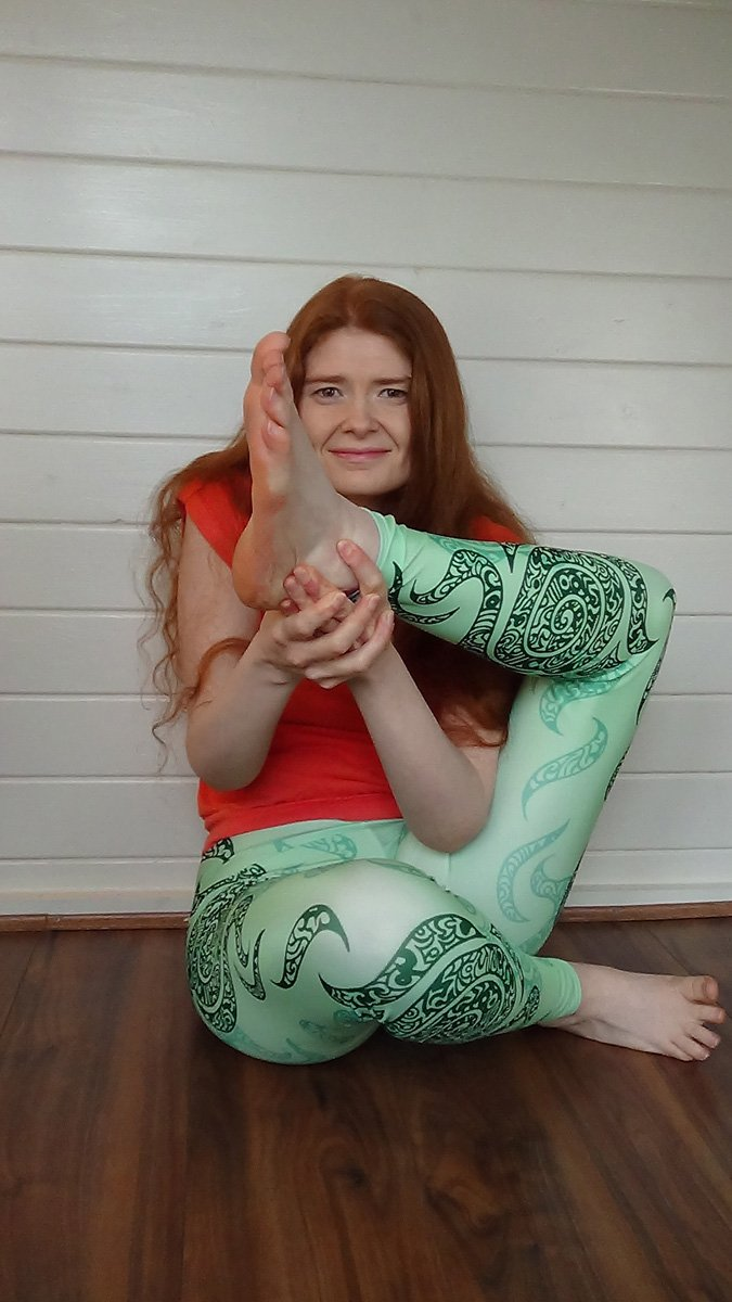 Swirl Leggings (Green)