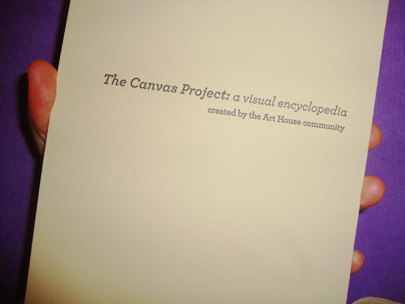 The Canvas Project: a visual encyclopedia