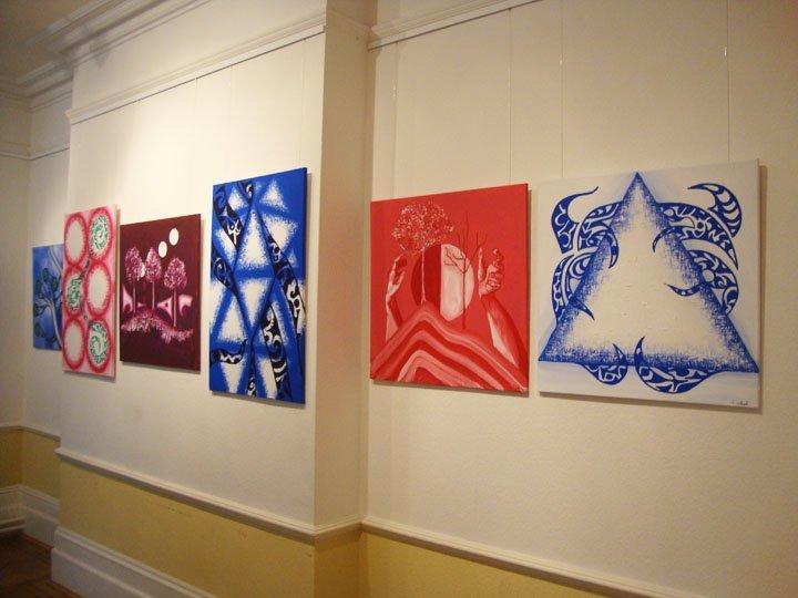 Jina Wallwork solo exhibition 2011
