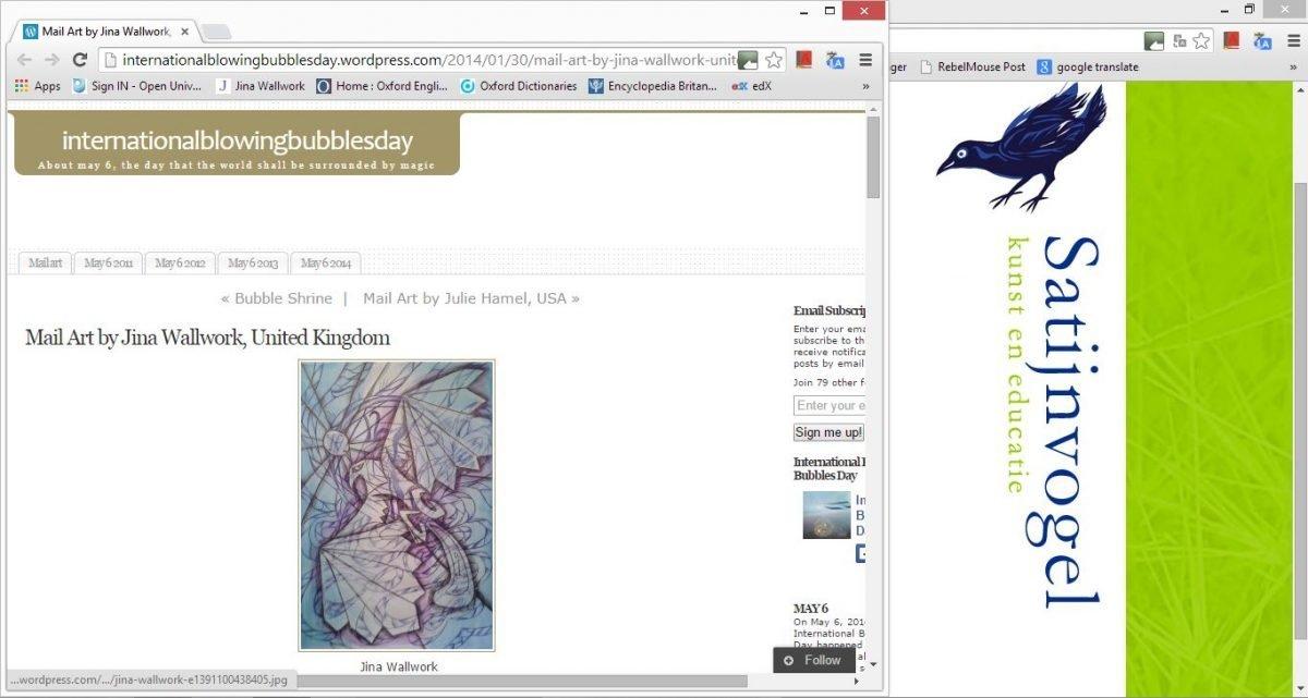 bubbles exhibition (web clippings)