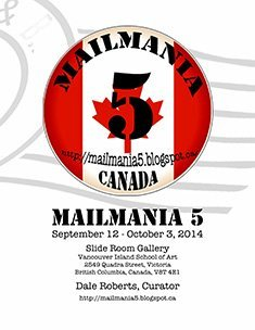 Mailmania 5 exhibition publication