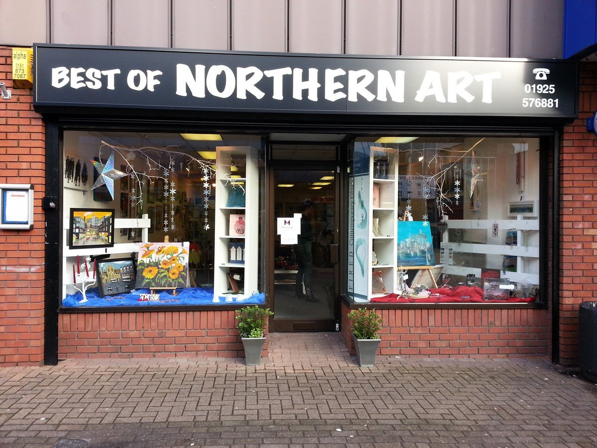The Best of Northern Art. Art Gallery in the north of england