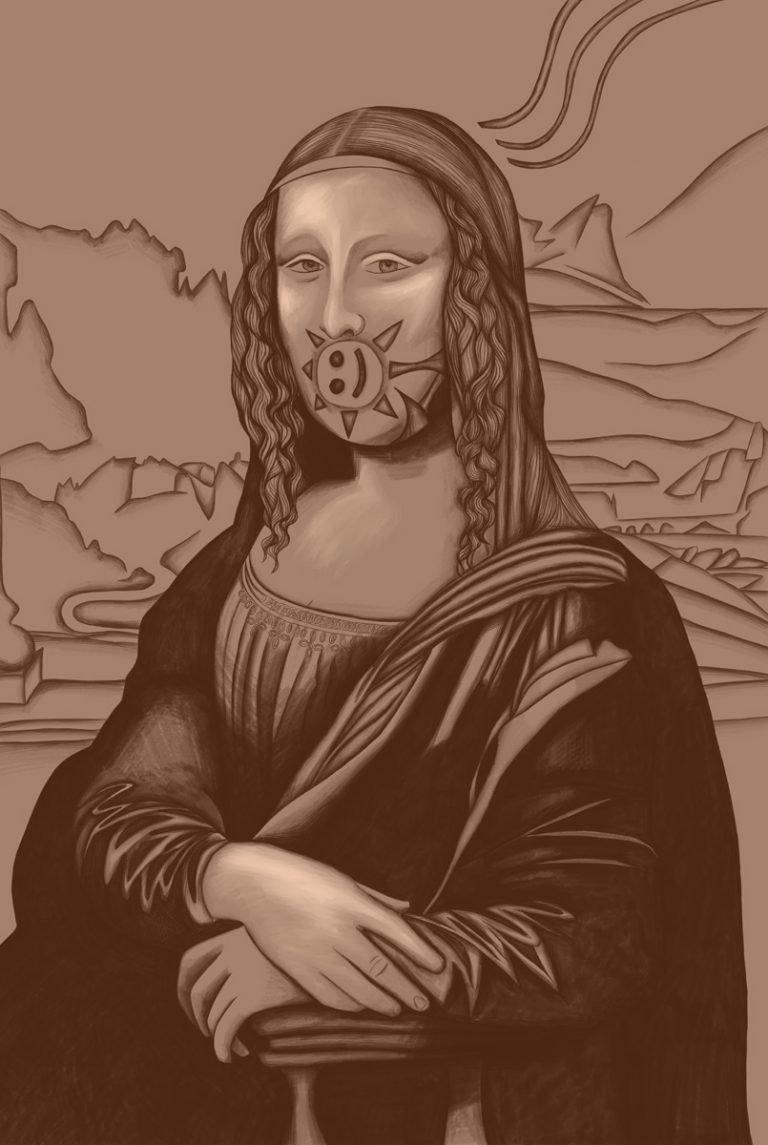 Mona Lisa 84
