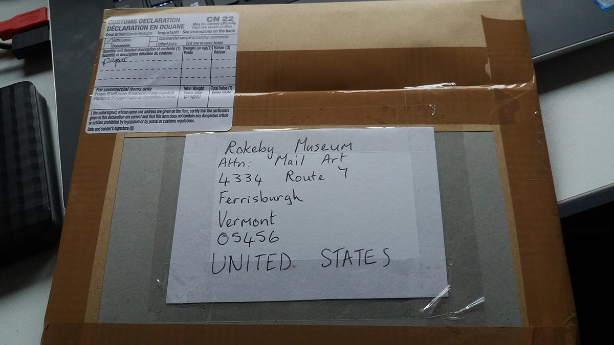 Sending art to the Rokeby Museum
