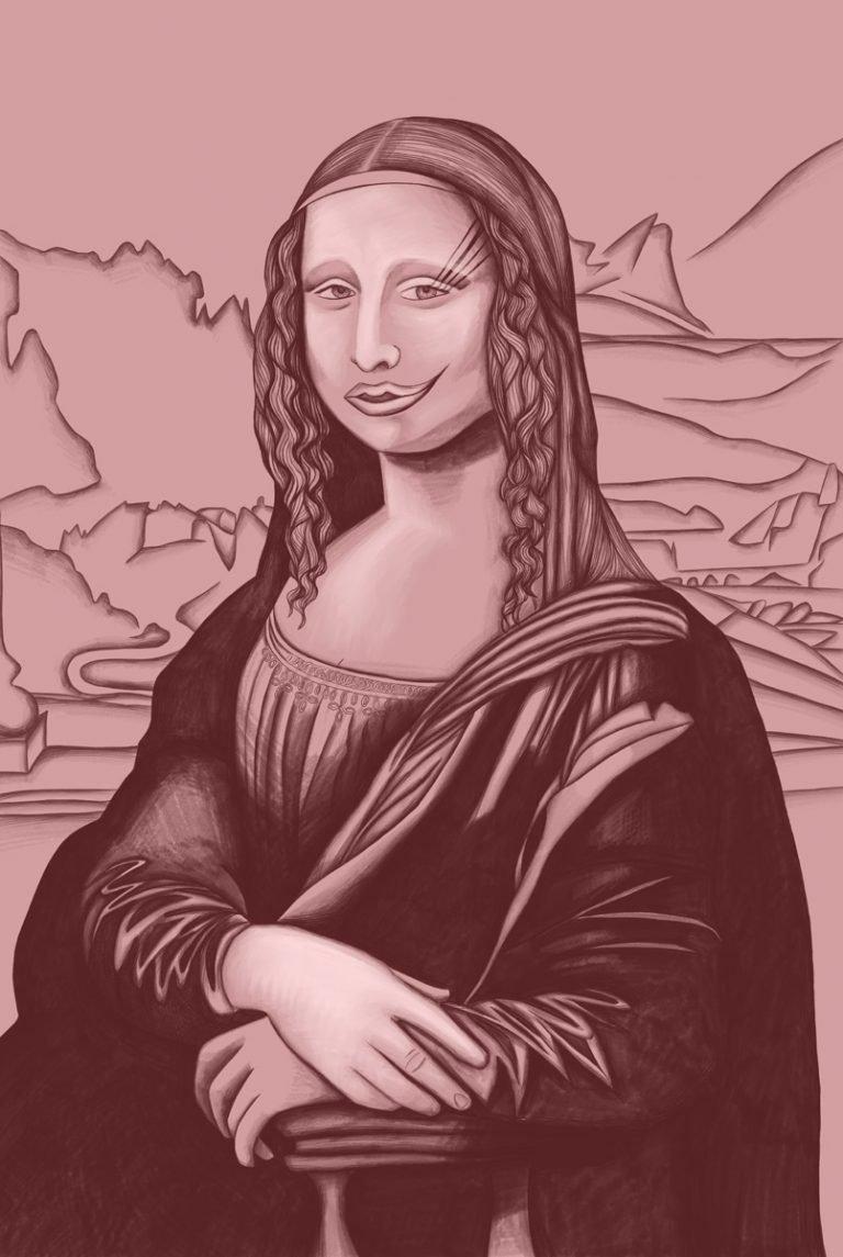 Mona Lisa 100
