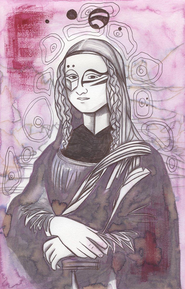 Mona Lisa 105