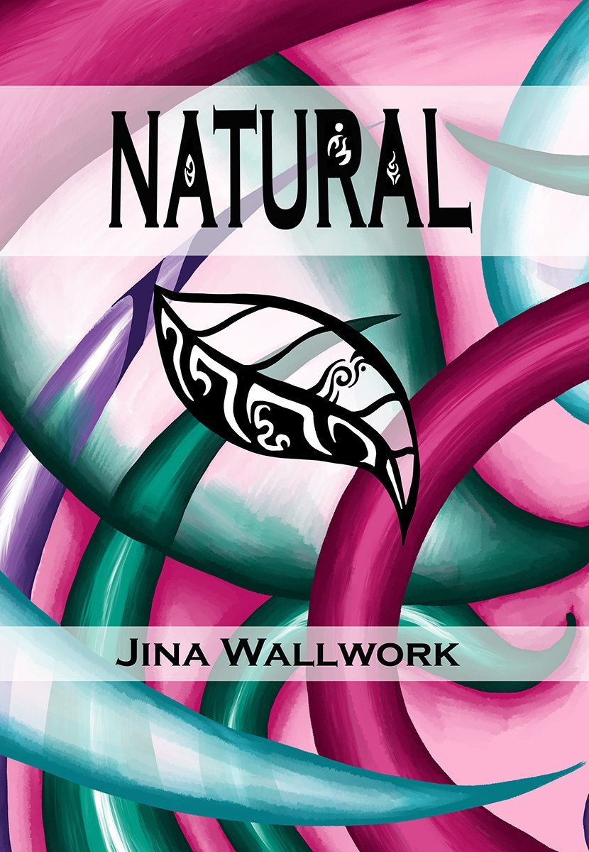 'Natural' book cover by Jina Wallwork.