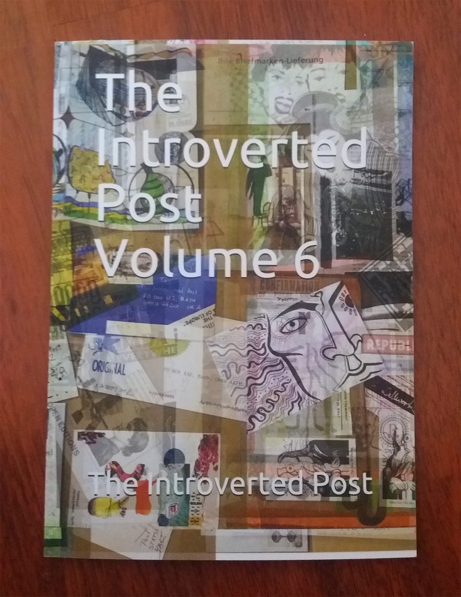 The book cover of 'The Introverted Post Volume 6'.